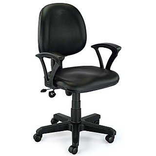 Computer Black Leatherette Chair