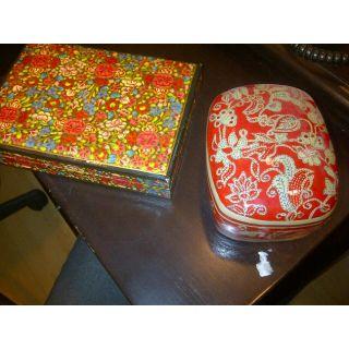 Indian Tea In Papier Machie Box
