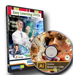 Learning Illustrator CS6 Video Tutorial DVD