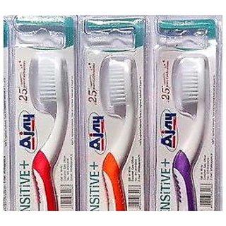 3 Pcs Set Quot Ajay Quot Toothbrush India S No 1 Sensitive Gum