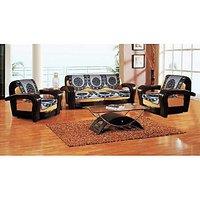 Set Of 10 Premium Dazzling Black Sofa Slip Covers (SC033)