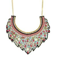 The Pari Multi Colour Alloy Necklace (tpnw15-39)