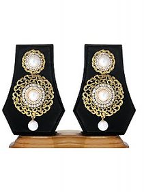Ethnic Jewels Gold Plated Multi Drops For Women