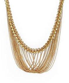 The Pari Golden Alloy Necklace (tpnw15-37)