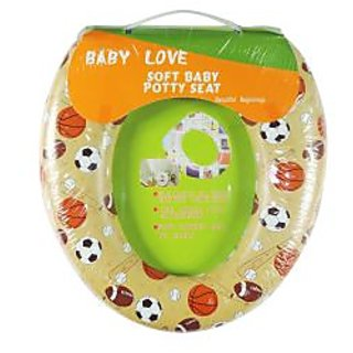 Ole Baby Soft Full Cushion Sports Ball Potty Trainer Seat Assorted