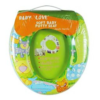 Ole Baby Soft Full Cushion Zoo Animals Potty Trainer Seat Assorted