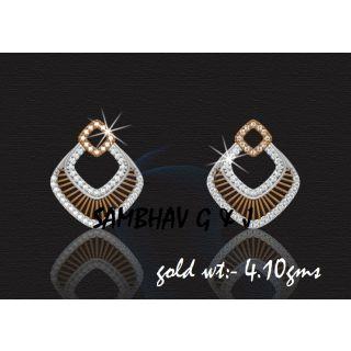 Sambhav Women's Earring (Yellow) SER164