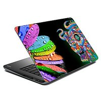 Mesleep Multi Color Laptop Skins 1701