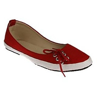 Zachho Red Casual Shoes HC68-RED