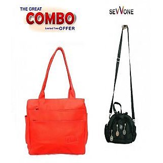 Super Handbag Combo Offer Prices in India- Shopclues- Online ... 33051e8df89b9