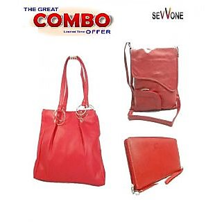 Online Sevvone Super Handbag COMBO Offer (3 Products) Prices ... b0ef8a2f6a161