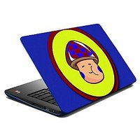 Mesleep Shy Face Boy Laptop Skin LS-03-14