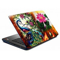 Mesleep Peacock Floral Laptop Skin LS-05-26