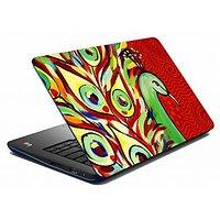 Mesleep  Red Peacock Laptop Skin LS-05-28