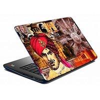 Mesleep Red King Wheel Laptop Skin LS-05-39