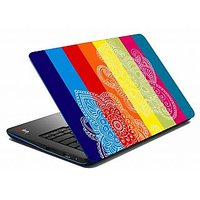 Mesleep Bright Paisley Multicolor Laptop Skin LS-05-64