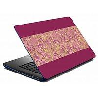 Mesleep Voilet Printed Laptop Skin LS-05-68