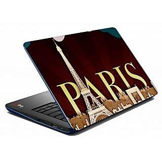 Mesleep Paris Laptop Skin LS-09-31