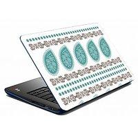Mesleep Blue Abstract Laptop Skin LS-05-31