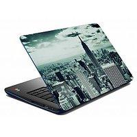 Mesleep Grey Old City Laptop Skin LS-05-41