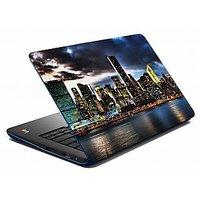 Mesleep Blue Cloudy Laptop Skin LS-05-42
