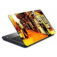 Mesleep Yellow Man City Laptop Skin LS-05-50