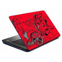 Mesleep Red Rath Laptop Skin LS-05-57
