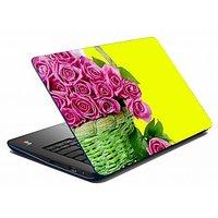 Mesleep Pink Rose Laptop Skin  LS-08-22
