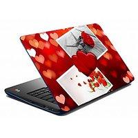 Mesleep Heart & Rose Laptop Skin LS-09-25