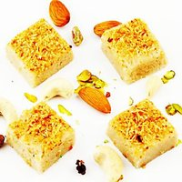Ghasitarams Sweets Father's Day Sugarfree Kaju Butterscotch Squares 500 Gms