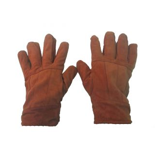 Winter Smart Leather Driving Gloves