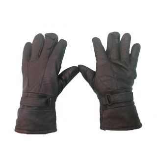 Design Smartouch Stratch Winter Leather Driving Gloves