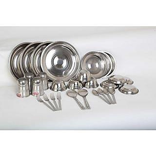 Scitek 30Pcs. Stainless Steel Dinner Set