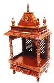 Shilpi Home Dcor Wooden Temple / Mandir