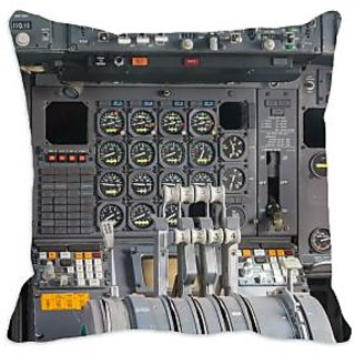 meSleep Cockpit 3D Cushion Cover (16x16), ​​​cushion covers