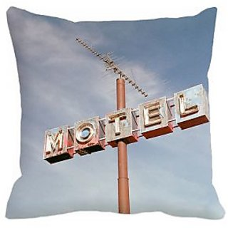 meSleep Motel 3D Cushion Cover - (16x16), Cushion Covers