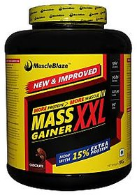Muscleblaze Mass Gainer Xxl  3 Kg / 6.6 Lbs Chocolate