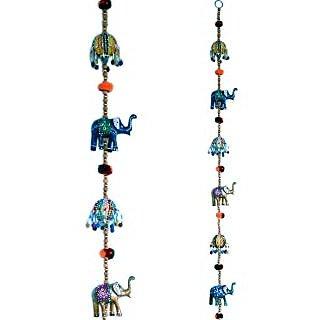Shoppingtara  Rajasthani Elephant Door Hanging Handicraft