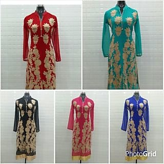 Exclusive Designer kurties which are available at reasonable  rates...