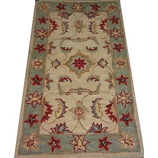 Wool Persian Tufted Designer Carpet