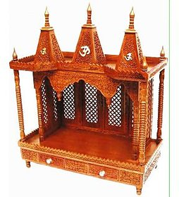 Shilpi Wooden Temple RoseWood(Sheesham)