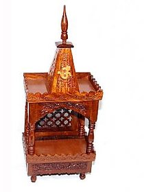 Shilpi Home Dcor Wooden small Temple / Mandir