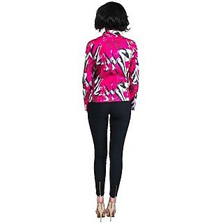 Lady Leg Design Digital Printed Blazer