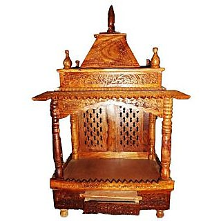 Shilpi Home D Cor Wooden Temple Mandir