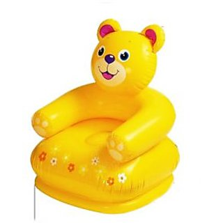 Intex Kids Toy Inflatable Animal Shaped Bear Sofa Chair