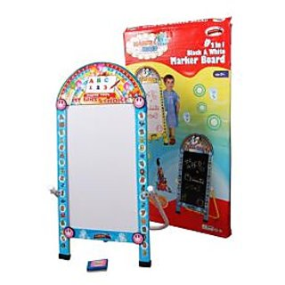 A 2 in 1 Black cum White Board for Kids..