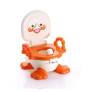 Panda Baby Little Duck Multifunctional Potty Trainer - Red