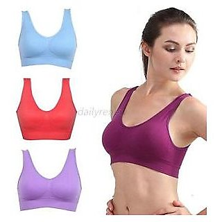 (PACK OF 3 ) AIR BRA VERY COMFORTABLE FOR EVERYONE