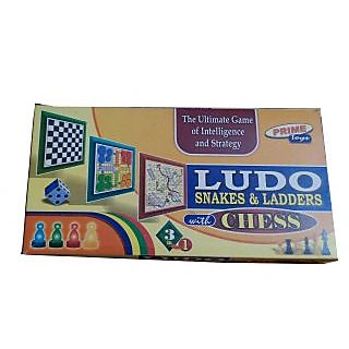 3 in 1(Ludo  Chess  Snake)