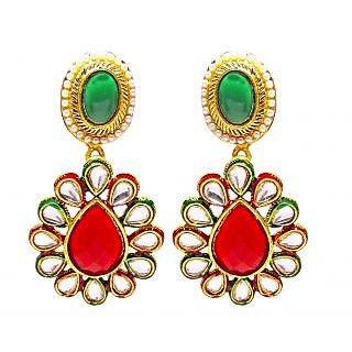 Jewelz Contemporary Hanging Rajwadi Earring